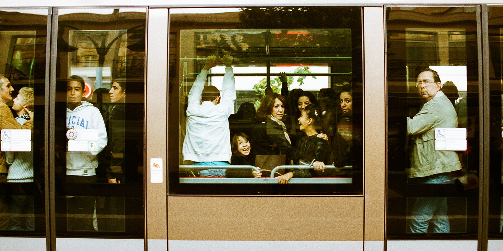 布拉格列車的微笑